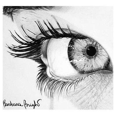 Valentina Art Print by Barbara Bright