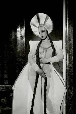 Ballet Dancers Photograph - Valentina Koshubaas The Bride In Les Noces by Cecil Beaton