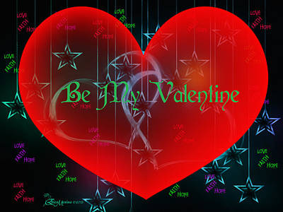 Digital Art - Valentine 4 by Ericamaxine Price