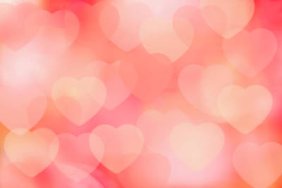 Valentine Background Art Print by Tetra Images
