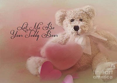 Photograph - Valentine Bear 2 by Pam  Holdsworth