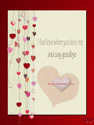 Photograph - Valentine Card  by Debra     Vatalaro