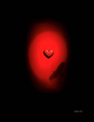 Digital Art - Valentine Heart 2 by Brian D Meredith