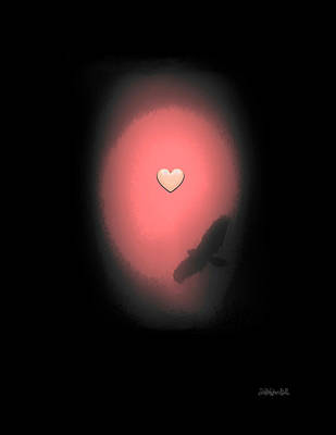 Digital Art - Valentine Heart 3 by Brian D Meredith