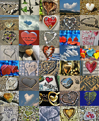 Quilts For Sale Photograph - Valentine - Hearts And Memories   by Daliana Pacuraru