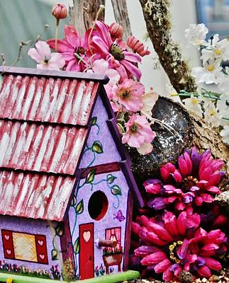 Painting - Valentine House by VLee Watson