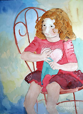 Painting - Valentine by Sandy McIntire