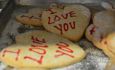 Photograph - Valentine Wishes And Cookies by Randy J Heath