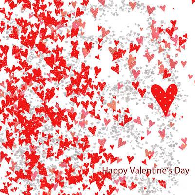 Valentine's Day Card Art Print