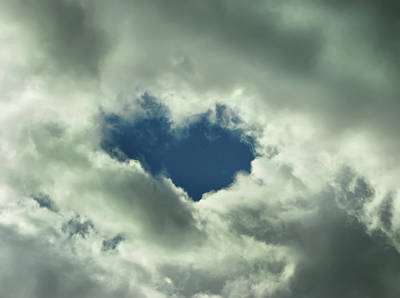 Photograph - Valentine's Day - Heart Shape by Daliana Pacuraru