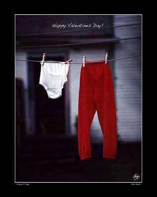 Photograph - Valentines Day Poster by Wayne King
