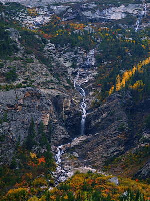 Photograph - Valhalla Canyon In The Fall by Raymond Salani III