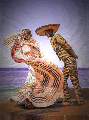 Photograph - Vallarta Dancers by Maria Coulson