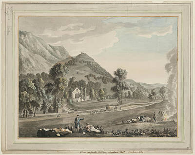 Valle Crucis Abbey Art Print by British Library