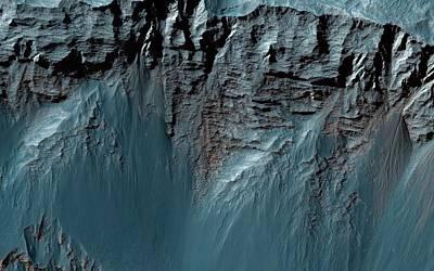 Vale Photograph - Valles Marineris by Nasa