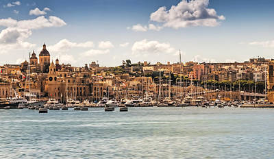 Photograph - Port Of Valleta by Maria Coulson