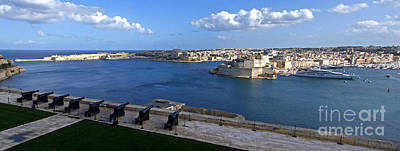Photograph - Valletta Grand Harbour by Mary Attard