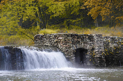 Valley Creek - Valley Forge Pa Art Print by Bill Cannon
