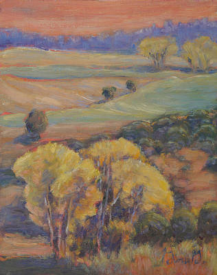 Wall Art - Painting - Valley Crossing by Gina Grundemann