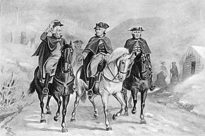 Gravure Photograph - Valley Forge, 1778 by Granger