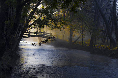 Valley Forge - Bow Bridge Print by Bill Cannon