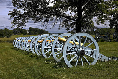 Revolutionery War Photograph - Valley Forge Cannons by Sally Weigand