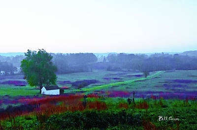 Valley Photograph - Valley Forge Farm And Fields by Bill Cannon
