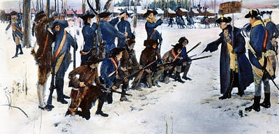 Mural Photograph - Valley Forge: Steuben, 1778 by Granger