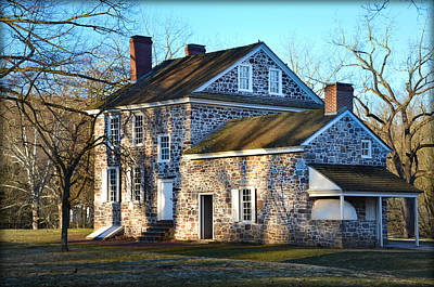 Valley Forge - Washington's Headquarters Art Print by Bill Cannon