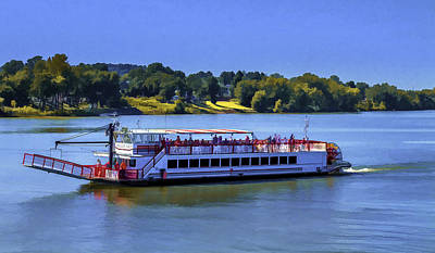 Photograph - Valley Gem On The Ohio River by Jack R Perry