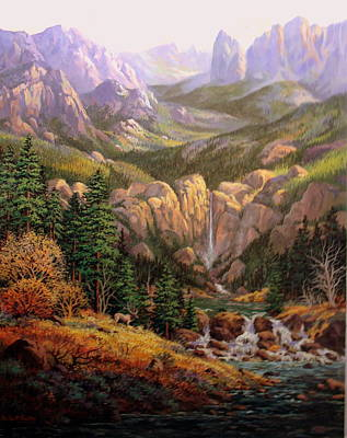 Painting - Valley King by W  Scott Fenton