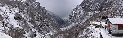 Nepal Scenes Photograph - Valley, Modi Khola Valley, Annapurna by Panoramic Images