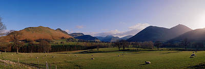U.k Photograph - Valley Northern Lake District Cumbria by Panoramic Images