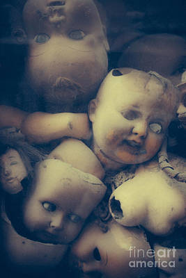 Ghostly Tears Photograph - Valley Of Dolls by Danilo Piccioni