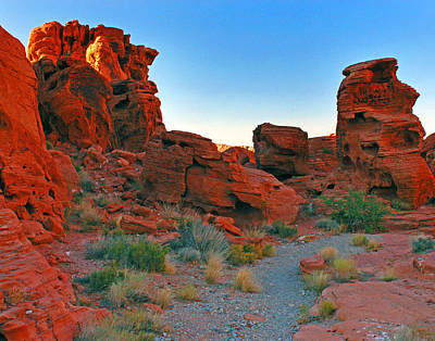 Photograph - Valley Of Fire 0002 by Jeff Stallard