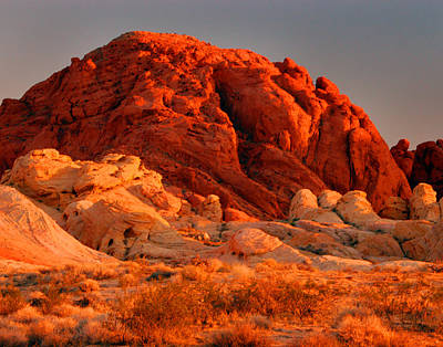 Photograph - Valley Of Fire 0007 by Jeff Stallard
