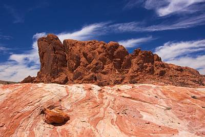 Photograph - Valley Of Fire 1 by David Beebe