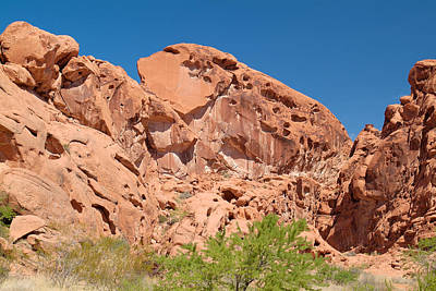 Photograph - Valley Of Fire 11 by Richard J Cassato