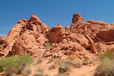 Photograph - Valley Of Fire 15 by Richard J Cassato