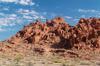 Photograph - Valley Of Fire 2 by Richard J Cassato