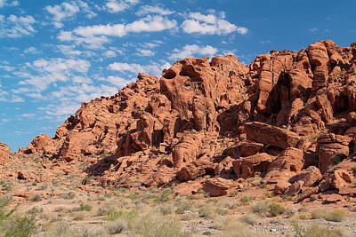 Photograph - Valley Of Fire 4 by Richard J Cassato