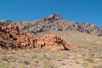 Photograph - Valley Of Fire 5 by Richard J Cassato