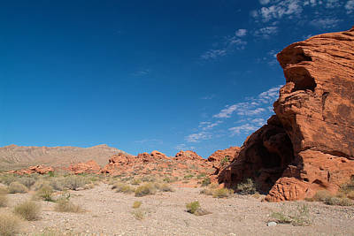 Photograph - Valley Of Fire 6 by Richard J Cassato