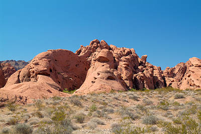 Photograph - Valley Of Fire 8 by Richard J Cassato