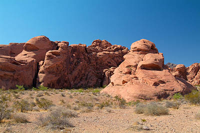 Photograph - Valley Of Fire 9 by Richard J Cassato