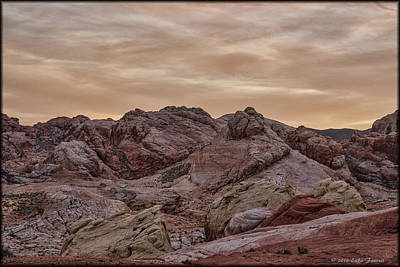 Photograph - Valley Of Fire by Erika Fawcett