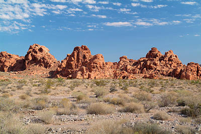 Photograph - Valley Of Fire by Richard J Cassato