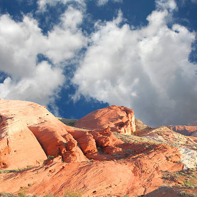 Photograph - Valley Of Fire Rock Formations by John Orsbun