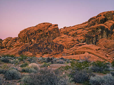 Photograph - Valley Of Fire Sunset II by Marianne Campolongo