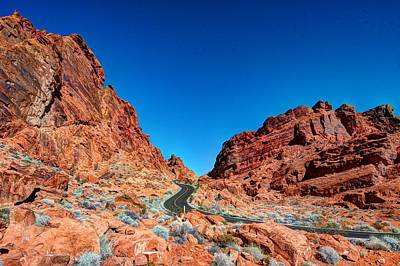 Valley Of Fire Art Print by Zachary Cox
